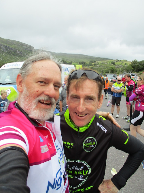 selfie with sean kelly