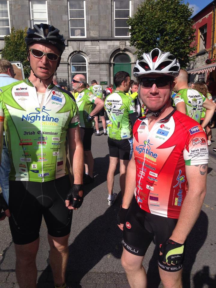 Adrian Normanton and Mick O'Shea in Listowel