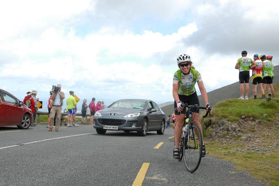Catherine Redmond gets to the top