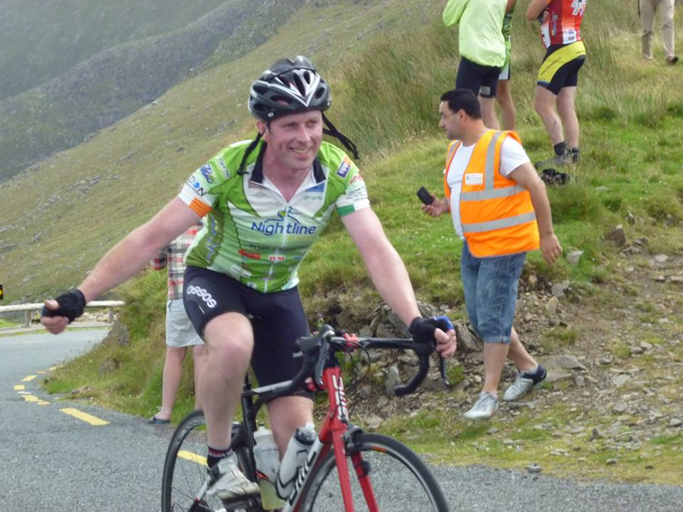 Gearoid Beamish at Conor Pass