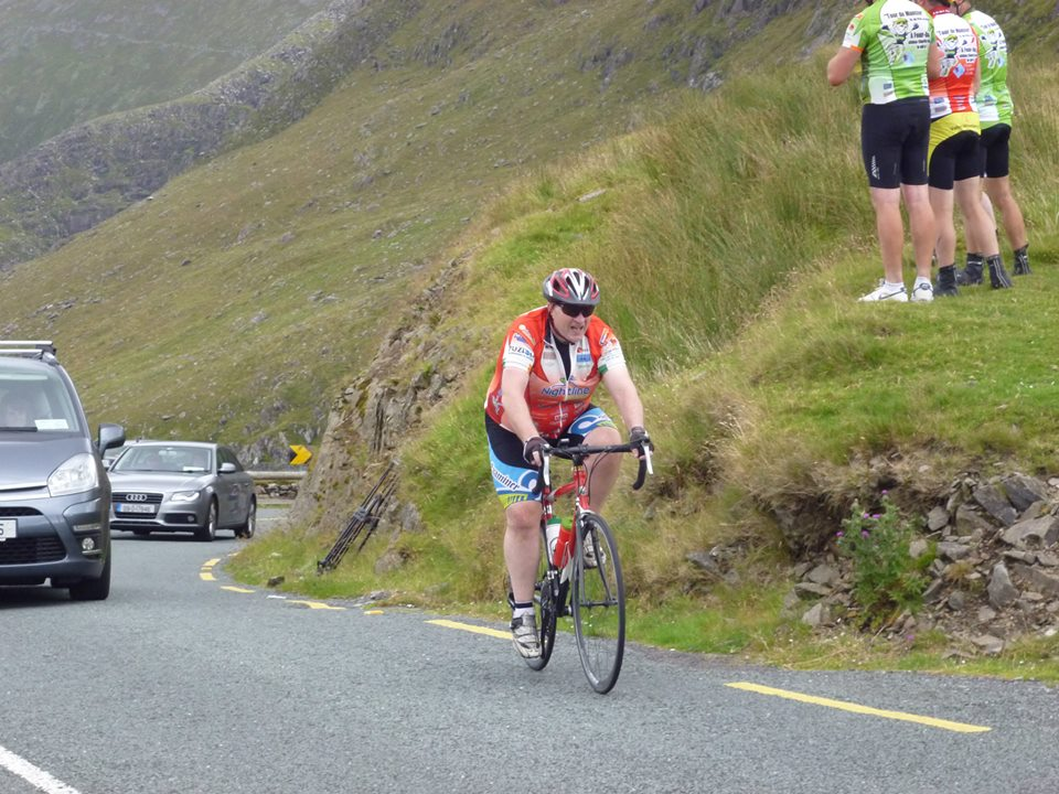 Noel Coleman at Conor Pass