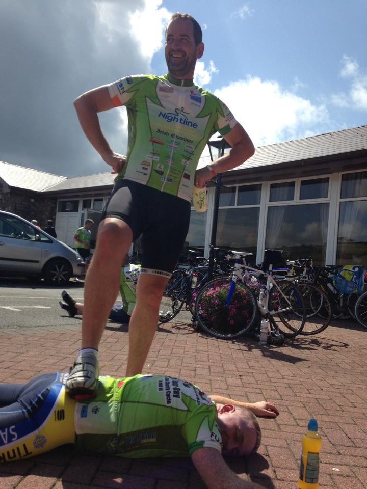 Phil Keohane conquers Mick O Shea in Dingle after The Conor Pass