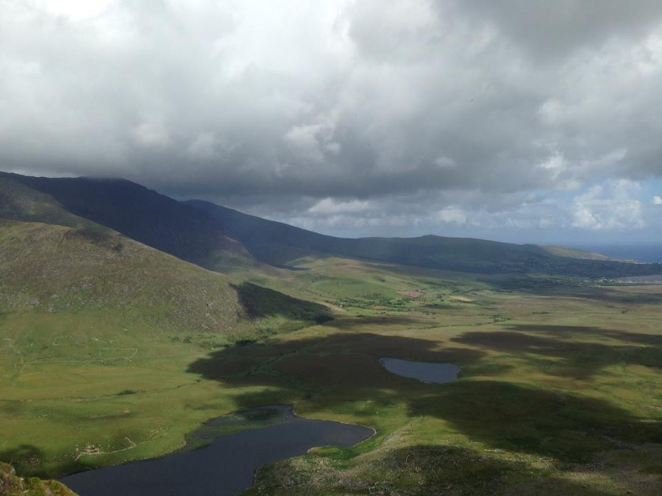 The View from Caha Pass