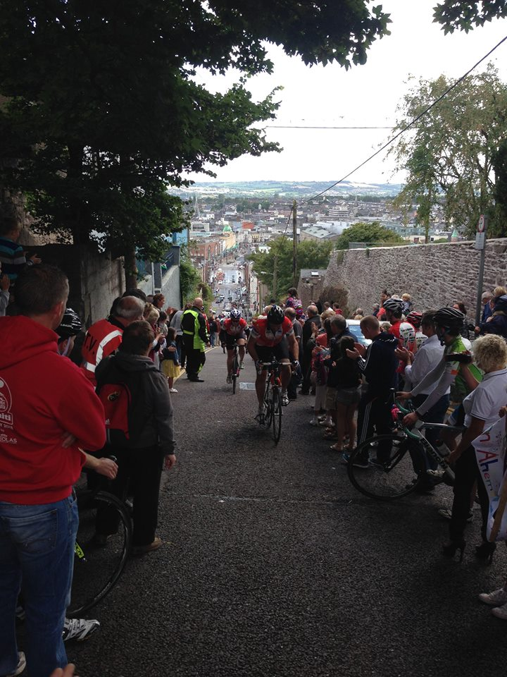 The race up Patricks hill