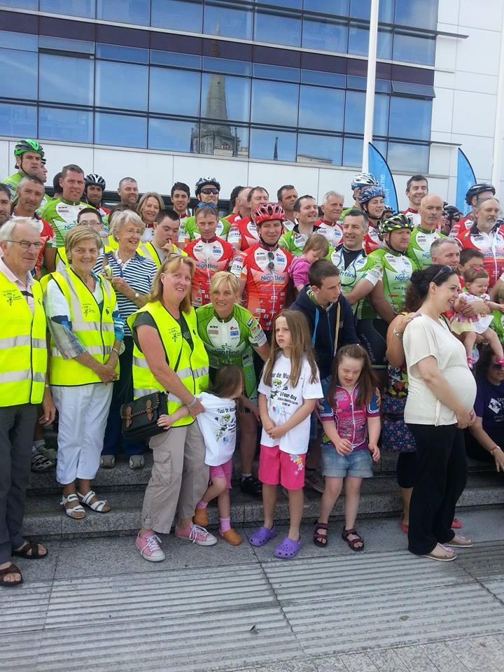 The starting group photo in Waterford