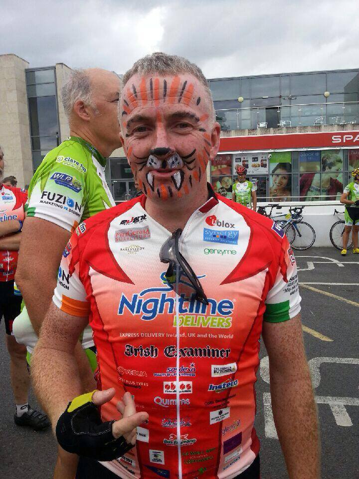 Tony the Tiger - Mick O Shea  Day 1 in Limerick_