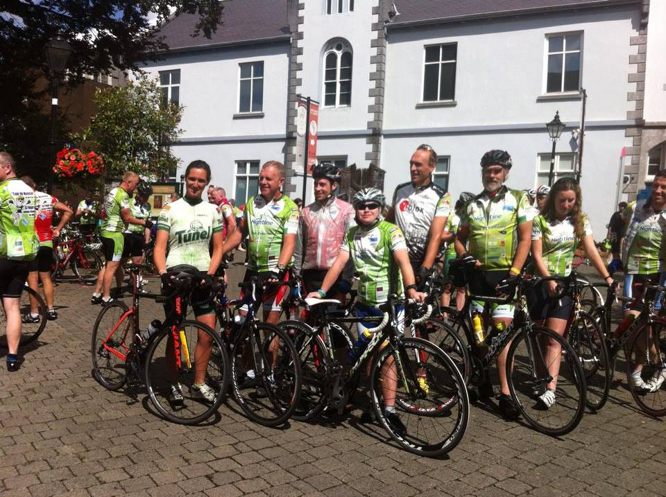 Well done Conrad McCullough, super cycling with Sheila Griffin and the Burren Cycling Club